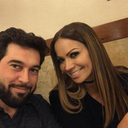 Leandro Andriani e Solange Almeida - Reprodução/Instagram/leleandriani