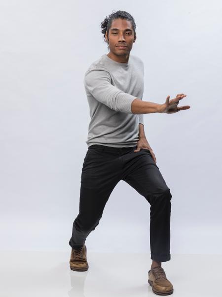 "Diogo Sales é eliminado de ""Dancing Brasil"" - Edu Moraes/Record"