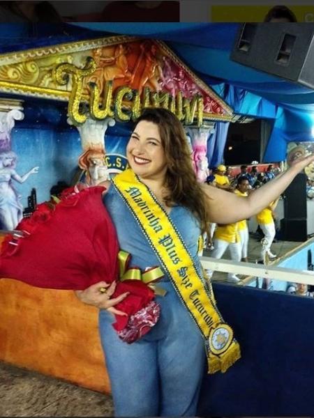 Mariana Xavier é eleita madrinha da Ala Plus Size da Tucuruvi - Reprodução Instagram/marianaxavieroficial