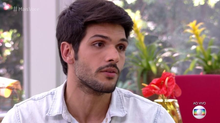 """Lucas participa do """"Mais Você"""" - Reprodução/Globo"""