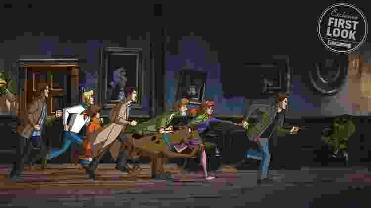 Scooby 1 - Reprodução/EW - Reprodução/EW