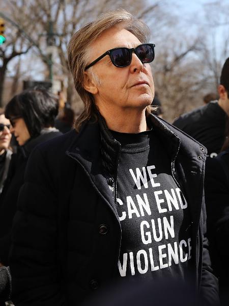 Paul McCartney conversou com Howard Stern em programa de rádio - Spencer Platt/Getty Images/AFP