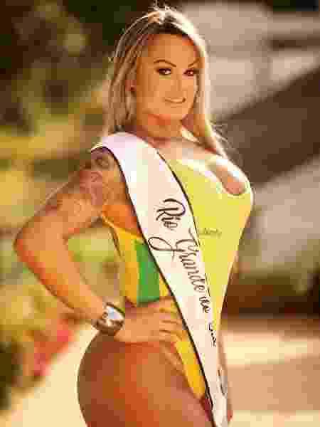Aline é líder da votação do Miss Bumbum 2018 com mais de dois milhões de votos faltando dois meses para a final - Divulgação/CO - Divulgação/CO