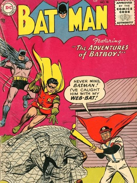 "Capa da HQ ""Batman #90"" - Reprodução/DCComics - Reprodução/DCComics"