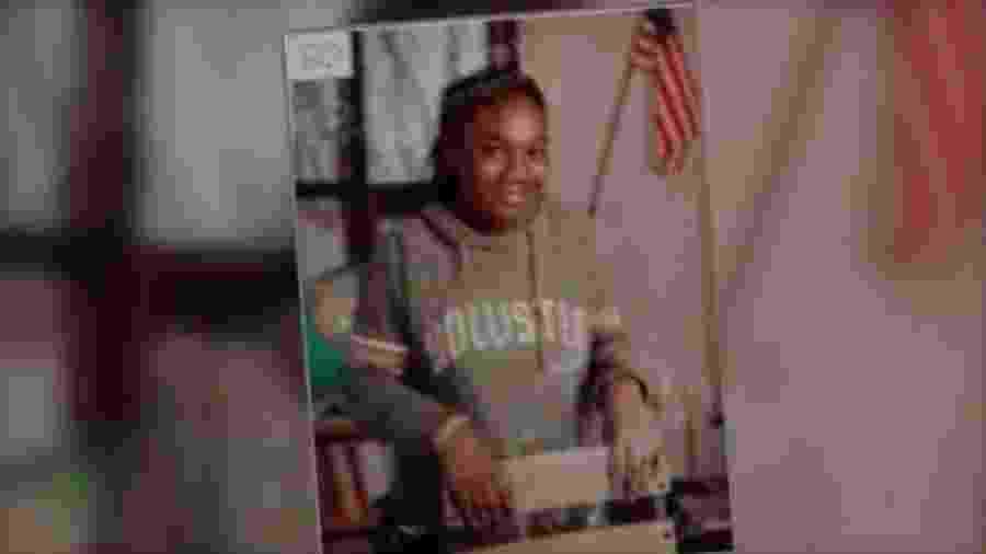 Sandra Parks morreu aos 13 anos na cidade de Milwaukee, nos Estados Unidos - Arquivo pessoal/BBC
