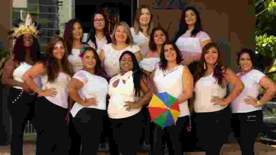 As 13 finalistas do concurso Rainha do Carnaval Plus Size - Renato Sarmento/Divulgação
