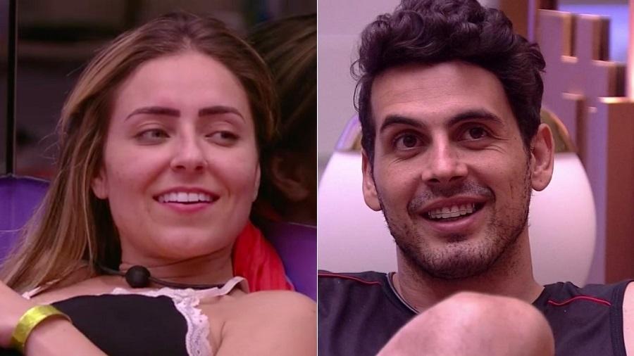 """Paula e Maycon, participantes do """"BBB19"""" - Montagem/UOL/Reprodução/TV Globo"""