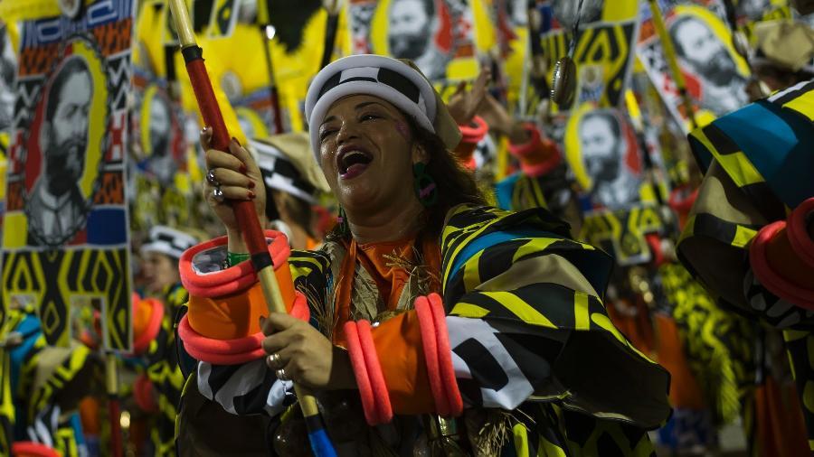 Desfile da Mangueira, campeã em 2019 - Bruna Prado/UOL