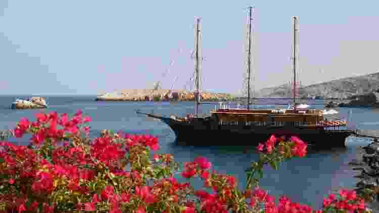 Veleiro Galileo, da Variety Cruises - Divulgação/Tailor Made Yacht Charters - Divulgação/Tailor Made Yacht Charters