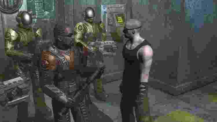 """Jerk participou de """"Chronicles of Riddick"""", de 2004, desenvolvido pela Starbreeze Studios - Divulgação"""