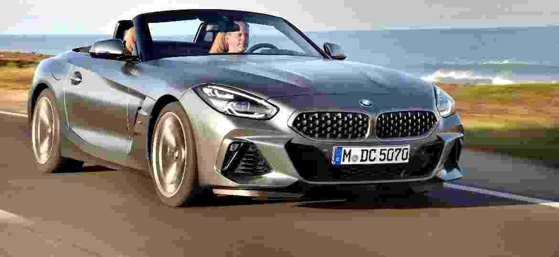 Versão mais potente e equipada do novo Z4 conta com suspensões adaptativas e rodas aro 19 - Divulgação/BMW