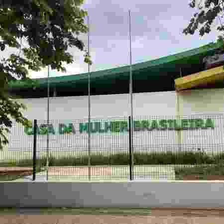Fachada da Casa da Mulher Brasileira em São Paulo - Júlia Zaremba/Folhapress
