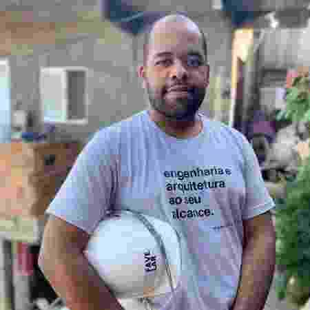Fábio Moraes, 27, criou o Favelar para levar reformas a casas de comunidades no Rio  - João Victor Teodoro/Divulgação - João Victor Teodoro/Divulgação