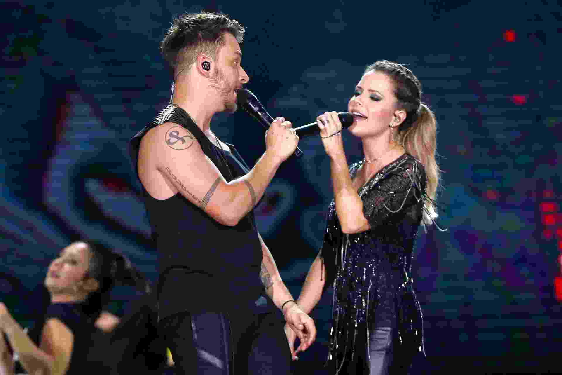 Sandy e Junior se apresentam no último show da turnê Nossa História - Manuela Scarpa/Brazil News