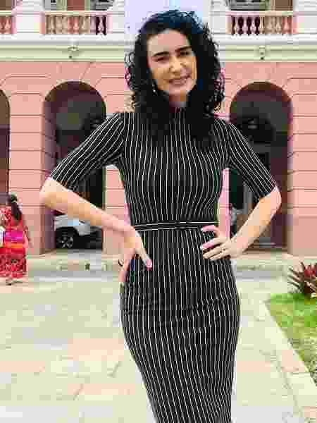A atriz Cristiane Machado - Reprodução