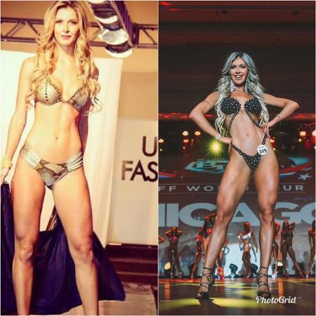O antes e o depois de Tatiele Polyana - Reprodução/ Instagram