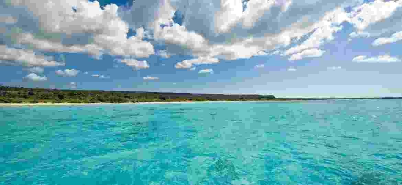 Punta Cana? Não! É a Bahía de Las Aguilas, na República Dominicana - Dominican Republic Ministry of Tourism