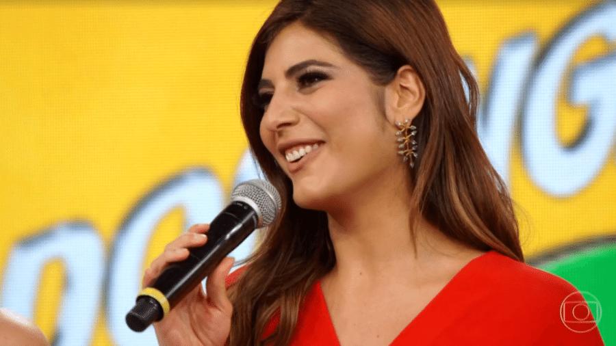 A jornalista Andréia Sadi foi a vítima mais recente do golpe - Reprodução/TV Globo