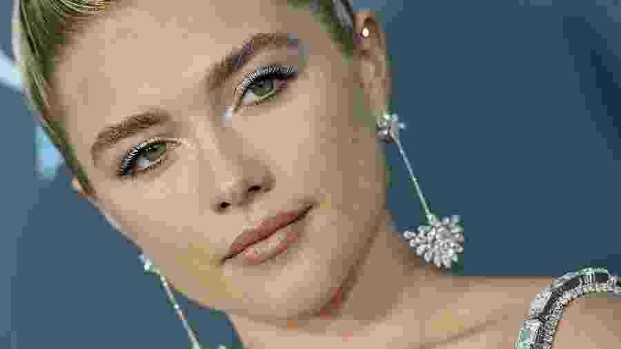 "Florence Pugh no Critics"" Choice em Santa Monica, na California - Axelle/Bauer-Griffin/FilmMagic"