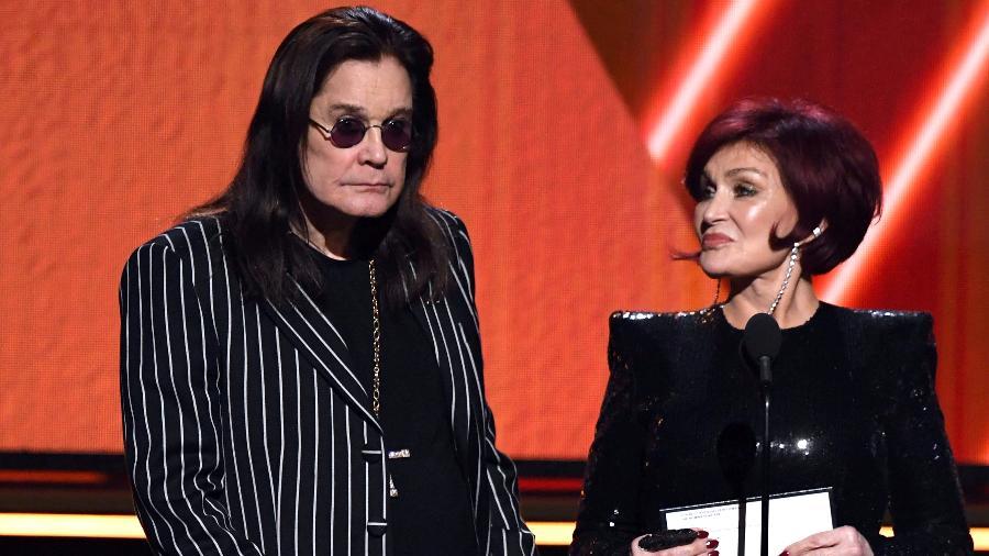Ozzy e Sharon Osbourne no Oscar 2020 - Getty Images