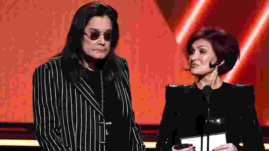 Ozzy e Sharon Osbourne no Oscar 2020 - Getty Images