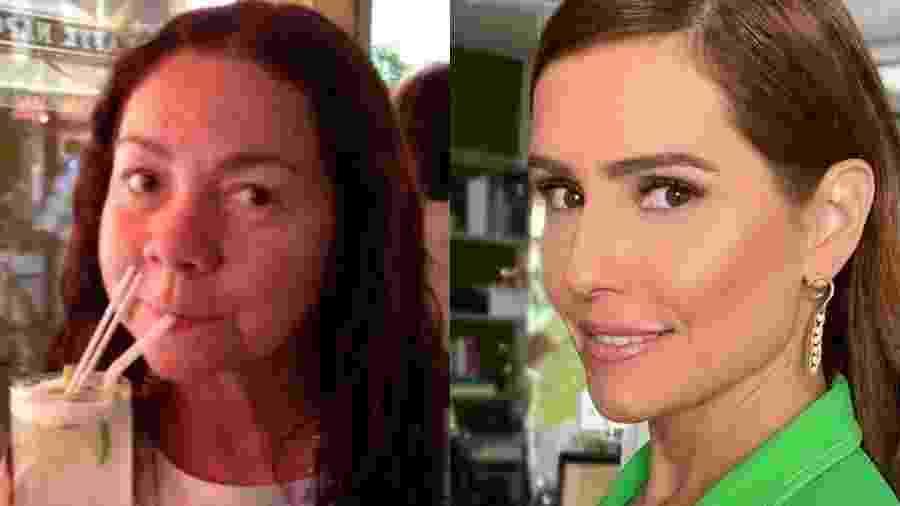 Silvia Secco e a filha famosa, Deborah Secco - Reprodução/Instagram