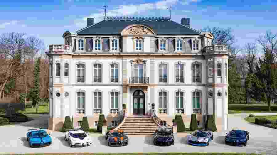 Coleção da Bugatti no Château St. Jean em Molsheim, na França - Divulgação