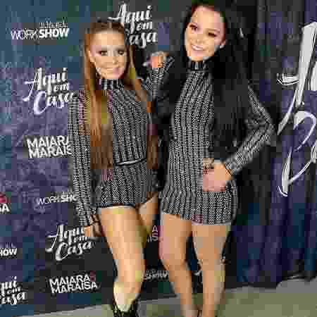 Maiara e Maraísa após show em Barcarena, no Pará - Reprodução Instagram