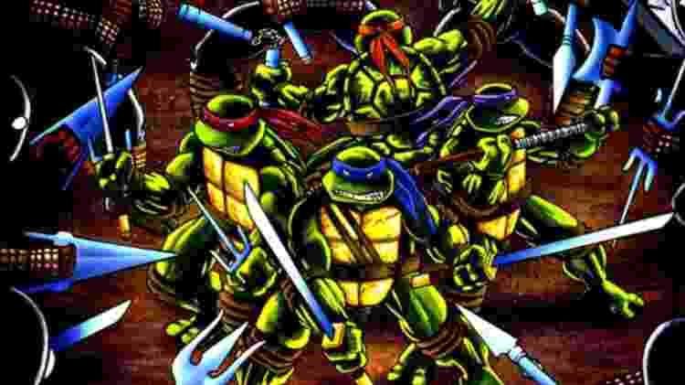Teenage Mutant Ninja Turtles - Divulgação/SquaredPotato - Divulgação/SquaredPotato