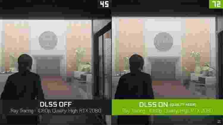 Control com DLSS - Divulgação/NVIDIA - Divulgação/NVIDIA