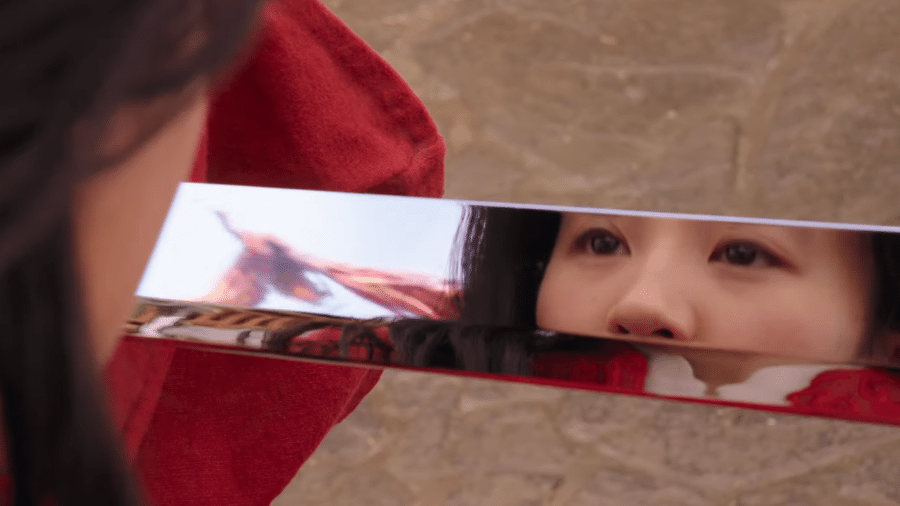 """Cena do novo trailer de """"Mulan"""", da Disney - Reprodução/YouTube"""