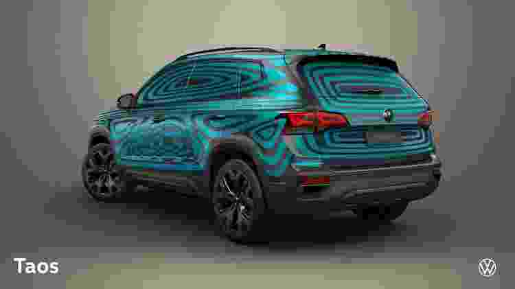 VW Taos 2 - Divulgação - Divulgação