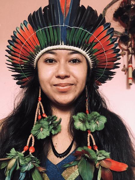 Hamangaí Marcos é membra da Rede Pelas Mulheres Indígenas - Arquivo pessoal