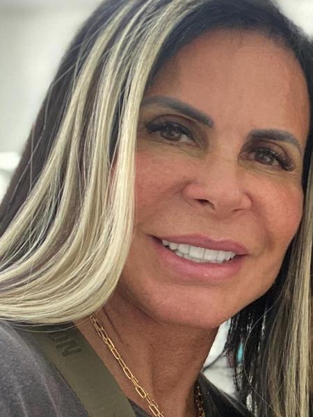 Gretchen muda o visual e faz mechas loira - Reprodução / Instagram