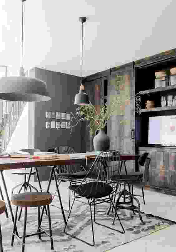 Cadeiras diferentes - Reprodução Pinterest