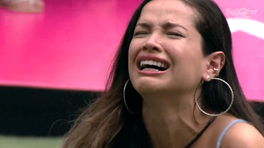 BBB 21: Juliette chora ao ver homenagem à mãe - Reprodução/Globoplay
