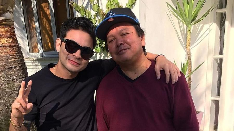Yudi e o pai, Nelson Tamashiro - Reprodução/Instagram