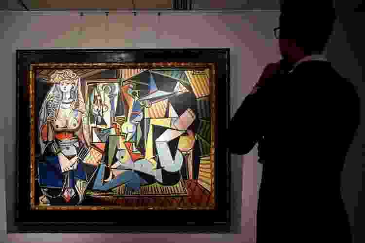 'As Mulheres de Argel', de Pablo Picasso - South China Morning Post via Getty Images - South China Morning Post via Getty Images