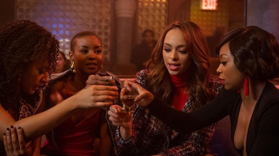 """""""Run the World"""", nova série ambientada em Nova York e que conta a história de quatro amigas, é protagonizada por mulheres negras - Jojo Whilden/Divulgação"""