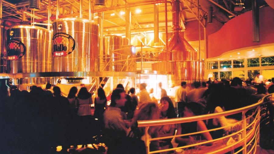 Dado Bier, em São Paulo: o maior brew pub do mundo já foi no Brasil - Divulgação