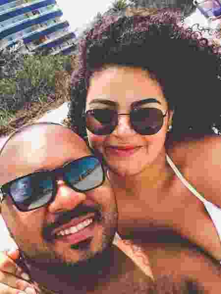 Ana e Rubens estão juntos há 10 meses - Arquivo pessoal - Arquivo pessoal
