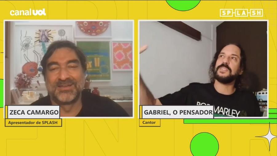Splash Entrevista: Gabriel O Pensador conta que conversou com Anitta sobre música - Splash Entrevista / UOL