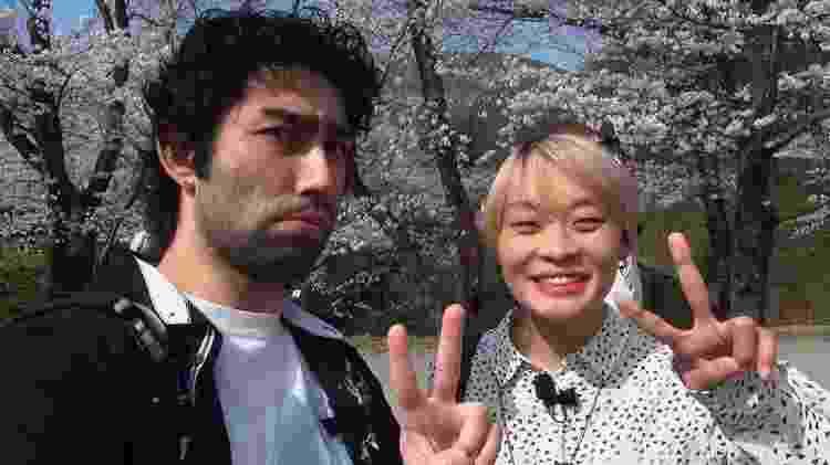 Lohgann e Prit, do canal Japão Nosso de Cada Dia - Reprodução - Reprodução
