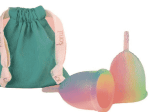 Coletor menstrual colorido da Korui - Divulgação - Divulgação