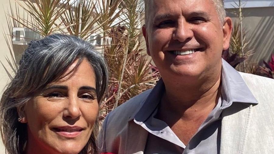 Glória Pires se declara a Orlando Morais com trecho de música da banda Barão Vermelho - Reprodução/Instagram