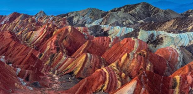 As montanhas chinesas parecem que foram pintadas à mão - Getty Images