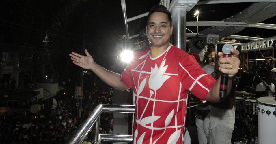 5.fev.2015 - Harmonia do Samba no bloco Reduto di Samba no Circuito Campo Grande, em Salvador