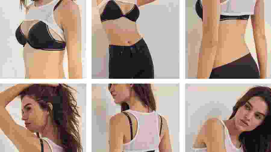 O top Out From Under Extreme Tank Top Shrug, da Urban Outfitters - Reprodução/Twitter