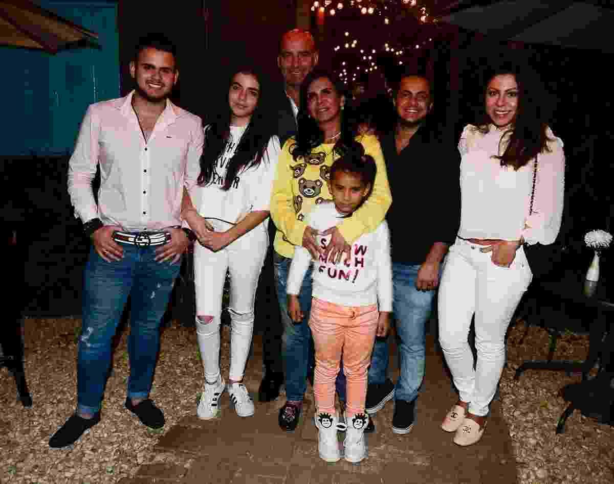 """Gretchen reúne a família para comemorar sucesso em clipe de Katy Perry e participação na campanha de divulgação da série """"Glow"""", da Netflix - Francisco Cepeda/AgNews"""
