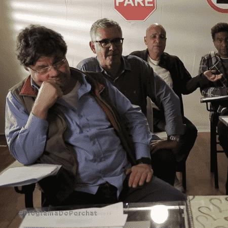 """Porchat recicla o humor """"Casseta & Planeta""""  - Reprodução/Youtube"""